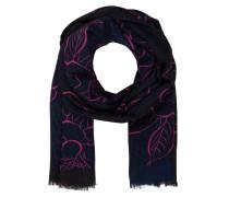 Schal - schwarz / pink