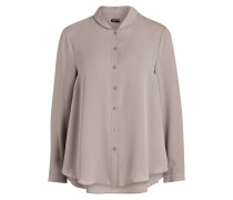 Seidenbluse THERESE - taupe