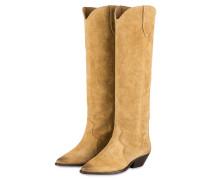 Cowboy Boots DENVEE - BEIGE