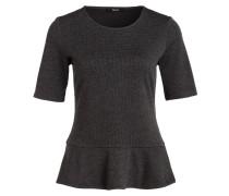 T-Shirt SERPLUM PEPITA - grau/ schwarz