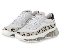 Plateau-Sneaker BUBBLY - WEISS