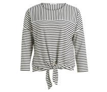 Shirt SIPLAK - schwarz/ weiss gestreift
