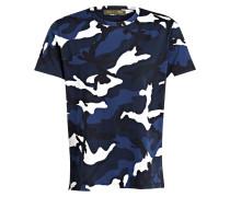 T-Shirt - marine/ weiss/ blau