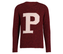 Strickpullover - bordeaux