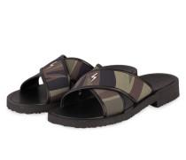 Sandalen CARLITO - grün/ schwarz