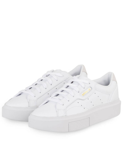 Plateau-Sneaker SLEEK SUPER - WEISS
