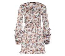 Kleid RISLEY mit Rüschenbesatz