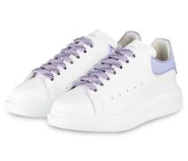 Plateau-Sneaker - WEISS/ HELLLILA