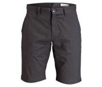 Shorts - dunkelgrau meliert