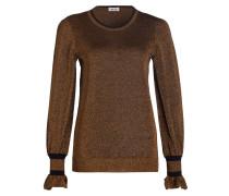 Pullover CARMEL - kupfer/ schwarz