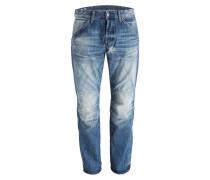Jeans 5620 ELWOOD 3D Straight-Fit - blau
