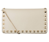 Clutch  ROCKSTUD - light ivory