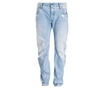 Destroyed-Jeans ARC 3D Slim-Fit - blau
