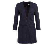Kleid - dunkelblau/ grau gestreift