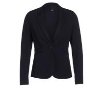 Jersey-Blazer - dunkelblau