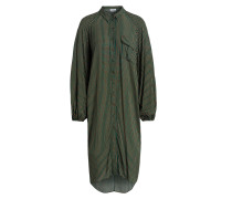 Oversized-Hemdblusenkleid