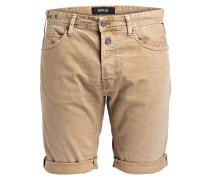Jeans-Shorts - beige