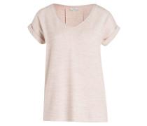 T-Shirt - rosa meliert
