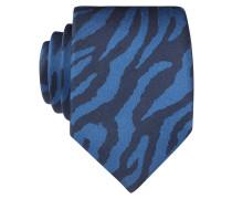 Krawatte - dunkelblau/ schwarz