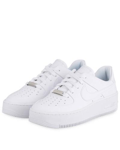Sneaker AIR FORCE 1 SAGE - WEISS