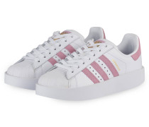 Sneaker SUPERSTAR BOLD - weiss/ rose