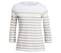 Pullover LOUNA - khaki/ weiss/ neon gelb