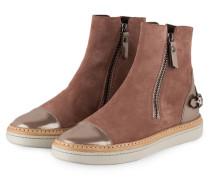 Hightop-Sneaker - altrosa