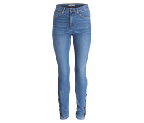 High Waist Jeans - bluv blue vintage denim