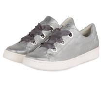 Plateau-Sneaker - platin metallic