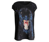 T-Shirt PANTHER - schwarz