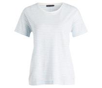 T-Shirt - hellblau/ weiss gestreift