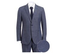 Anzug Extra-Slim-Fit mit Leinenanteil