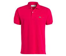 Piqué-Poloshirt Classic-Fit - pink