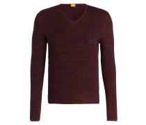 Pullover AKATUS - rot meliert