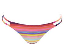 Bikini-Hose SUNSET - gelb/ pink/ blau
