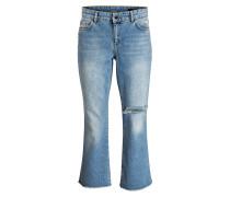 Flared-Jeans - blau