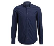 Hemd BASHOR Slim-Fit - blau