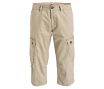 Cargo-Bermudas Straight-Fit - beige