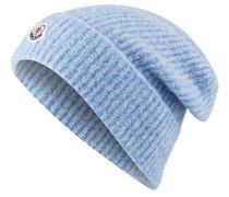 Mütze mit Alpaka-Anteil - hellblau