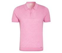 Strick-Poloshirt Level Five body fit