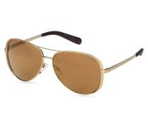 Sonnenbrille MK-5004 - gold/ braun