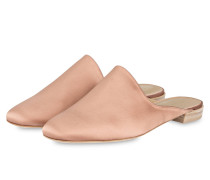 Satin-Slipper MULEARKY - rosa