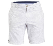 Chino-Shorts Classic-Fit - grau