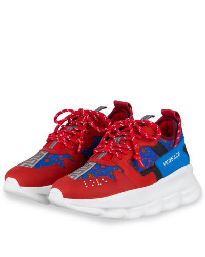 Sneaker CHAIN REACTION 2 - ROT/ BLAU