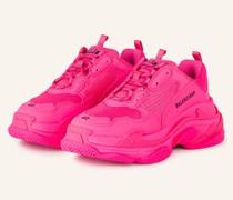 Sneaker TRIPLE S - NEONPINK