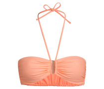 Bandeau-Bikini-Top SUMMER SOLIDS - orange