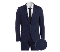 Anzug Slim-Fit - blau