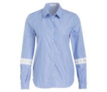 Bluse CHALLENGE - blau/ weiss gestreift