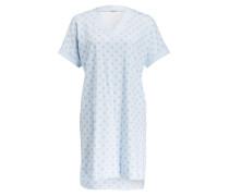 Nachthemd - hellblau