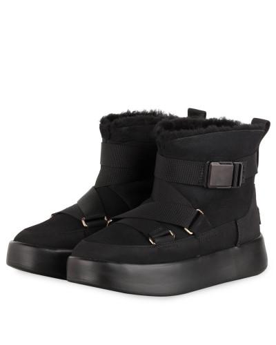 Boots CLASSIC BOOM BUCKLE - SCHWARZ